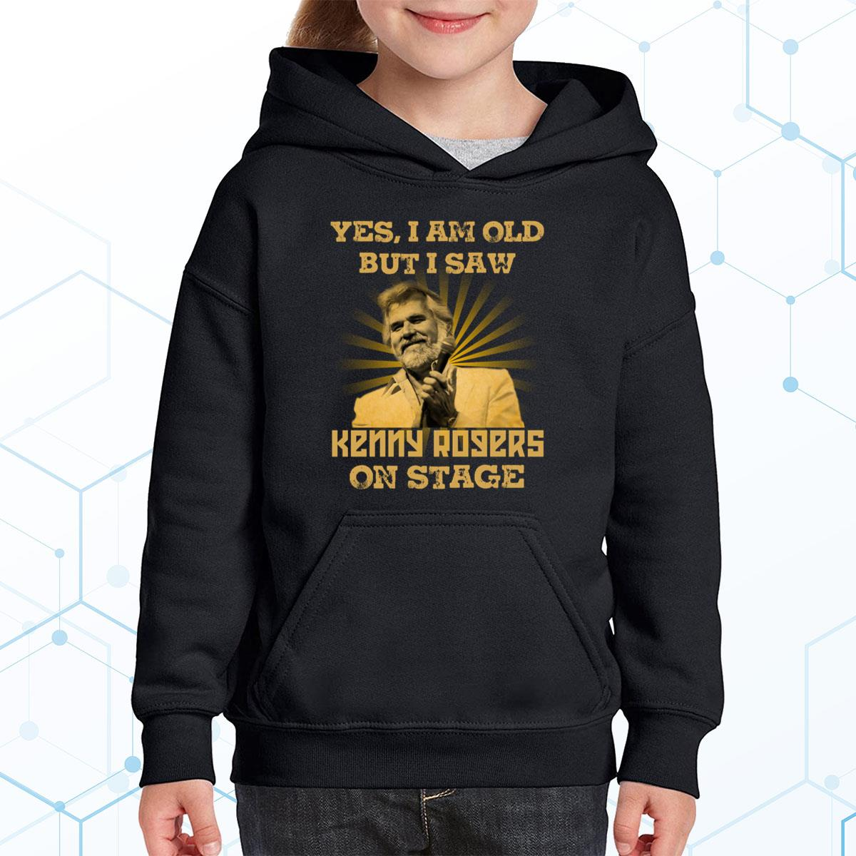 I Am Old But I Saw Kenny Rogers Premium Youth Hoodie