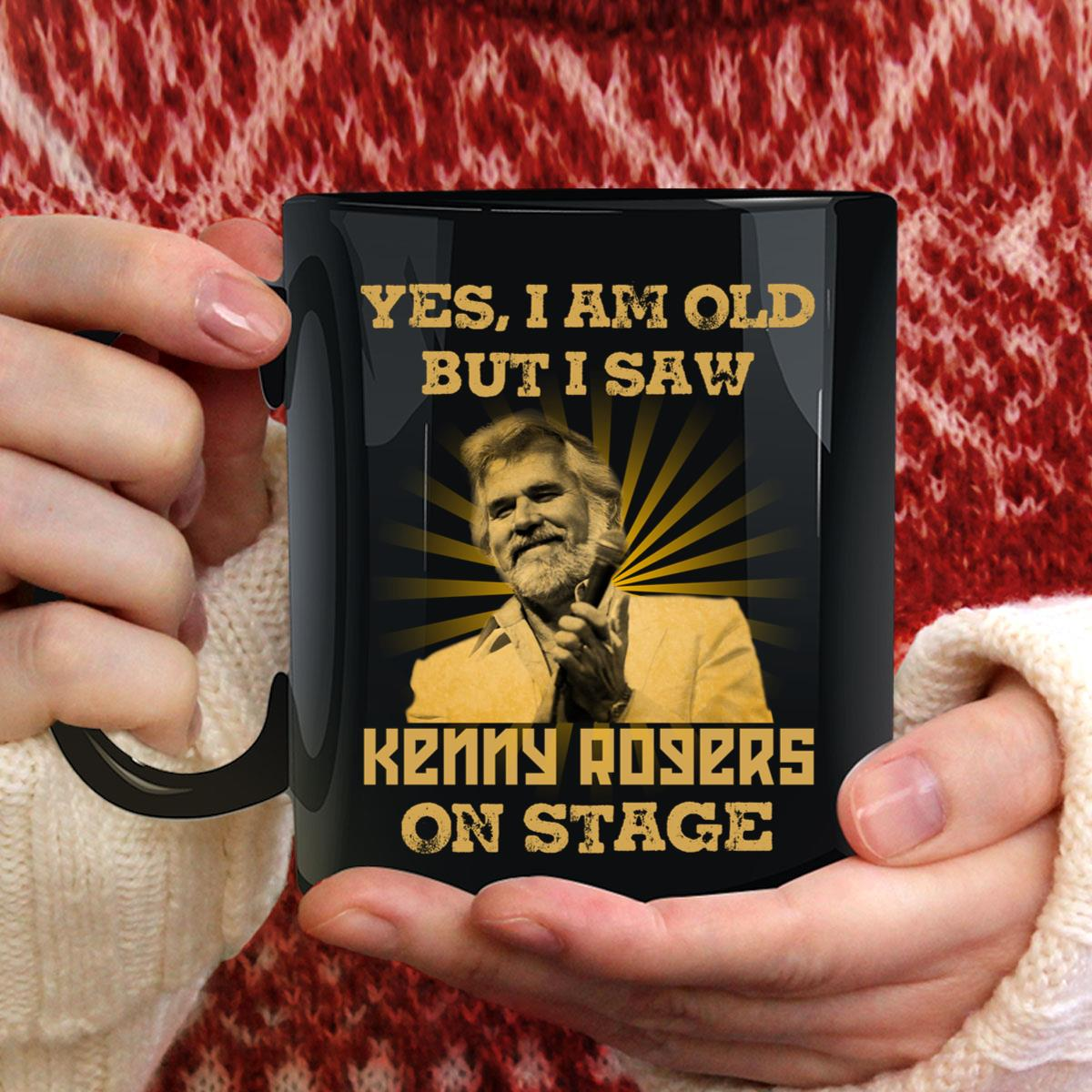 I Am Old But I Saw Kenny Rogers Mug