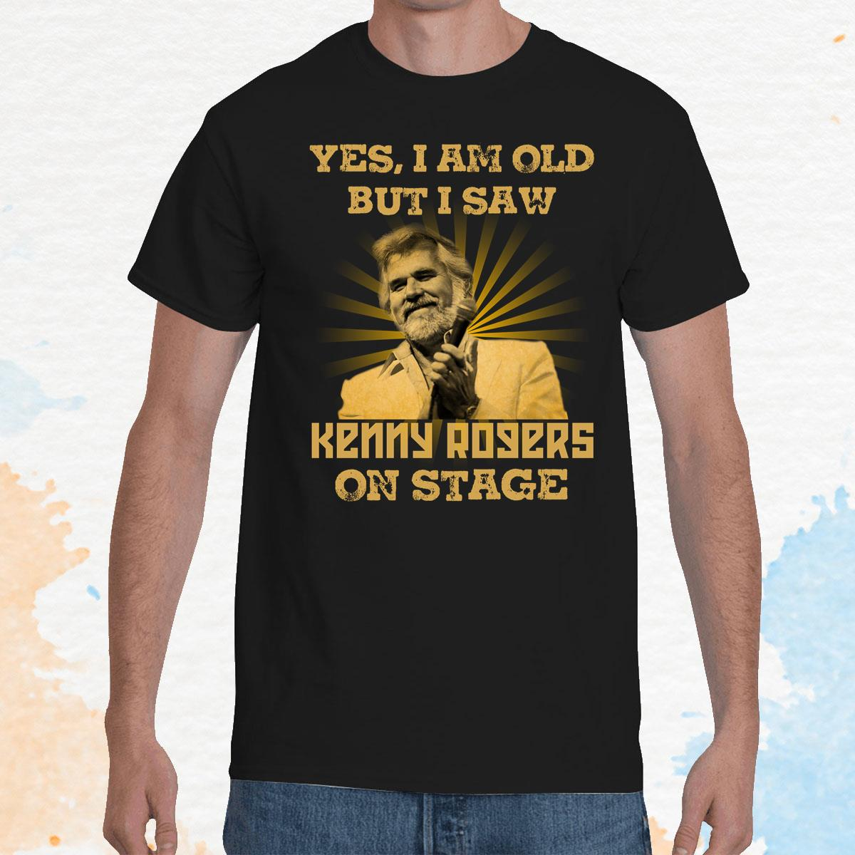I Am Old But I Saw Kenny Rogers Unisex T-Shirt