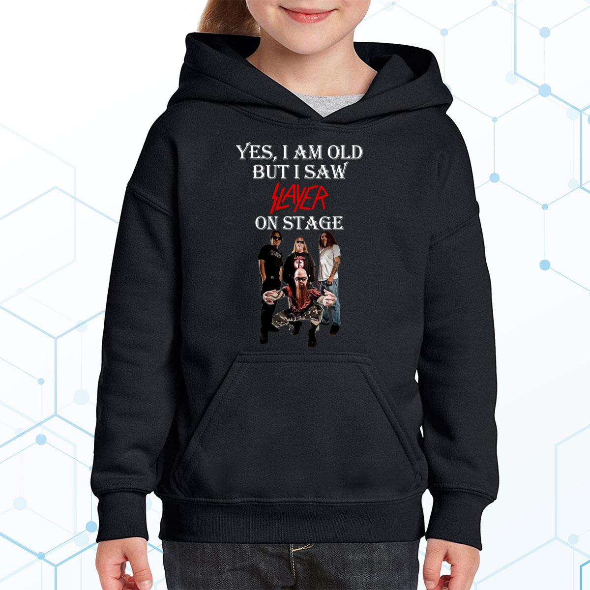 I Am Old But I Saw Slayer Premium Youth Hoodie