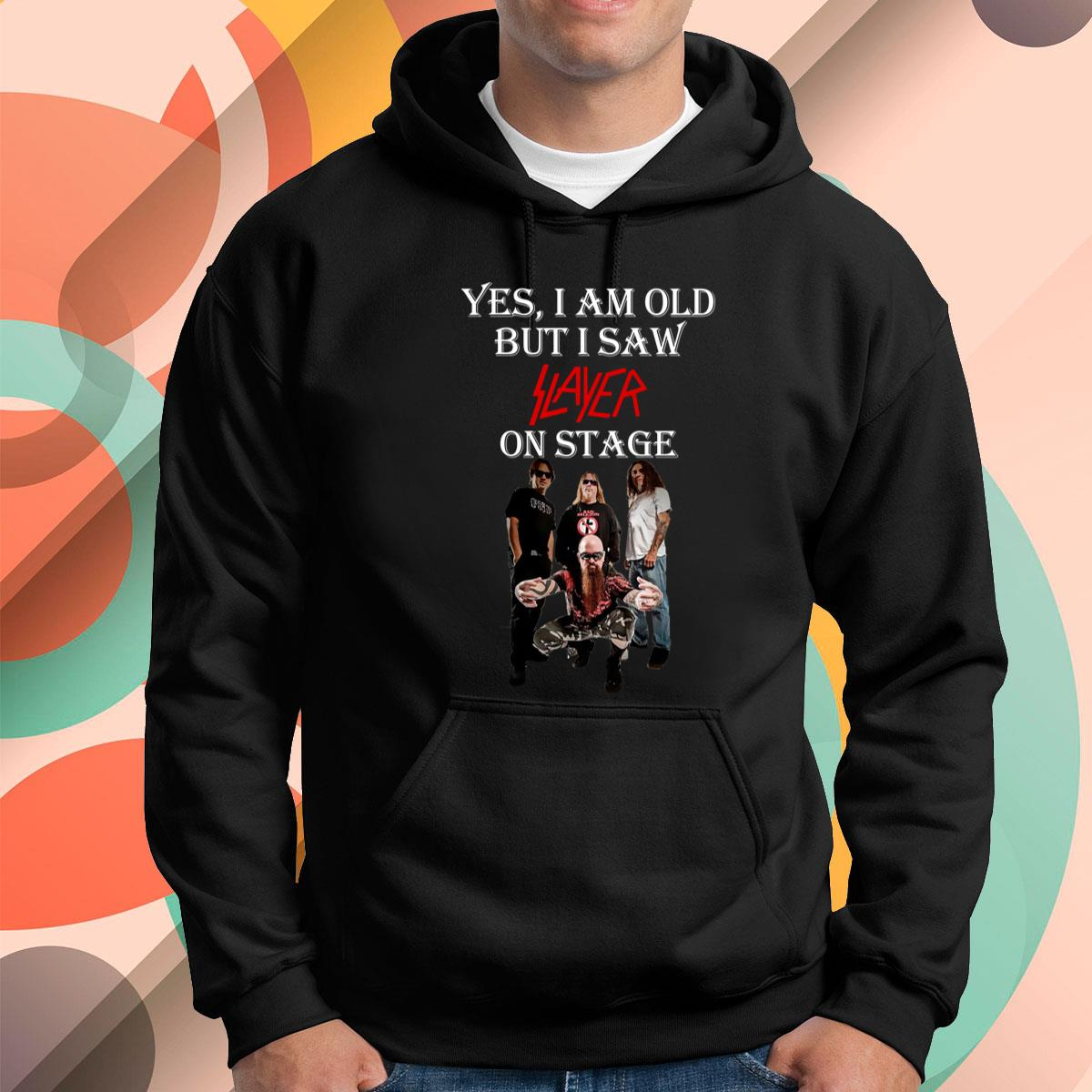 I Am Old But I Saw Slayer Pullover Hoodie