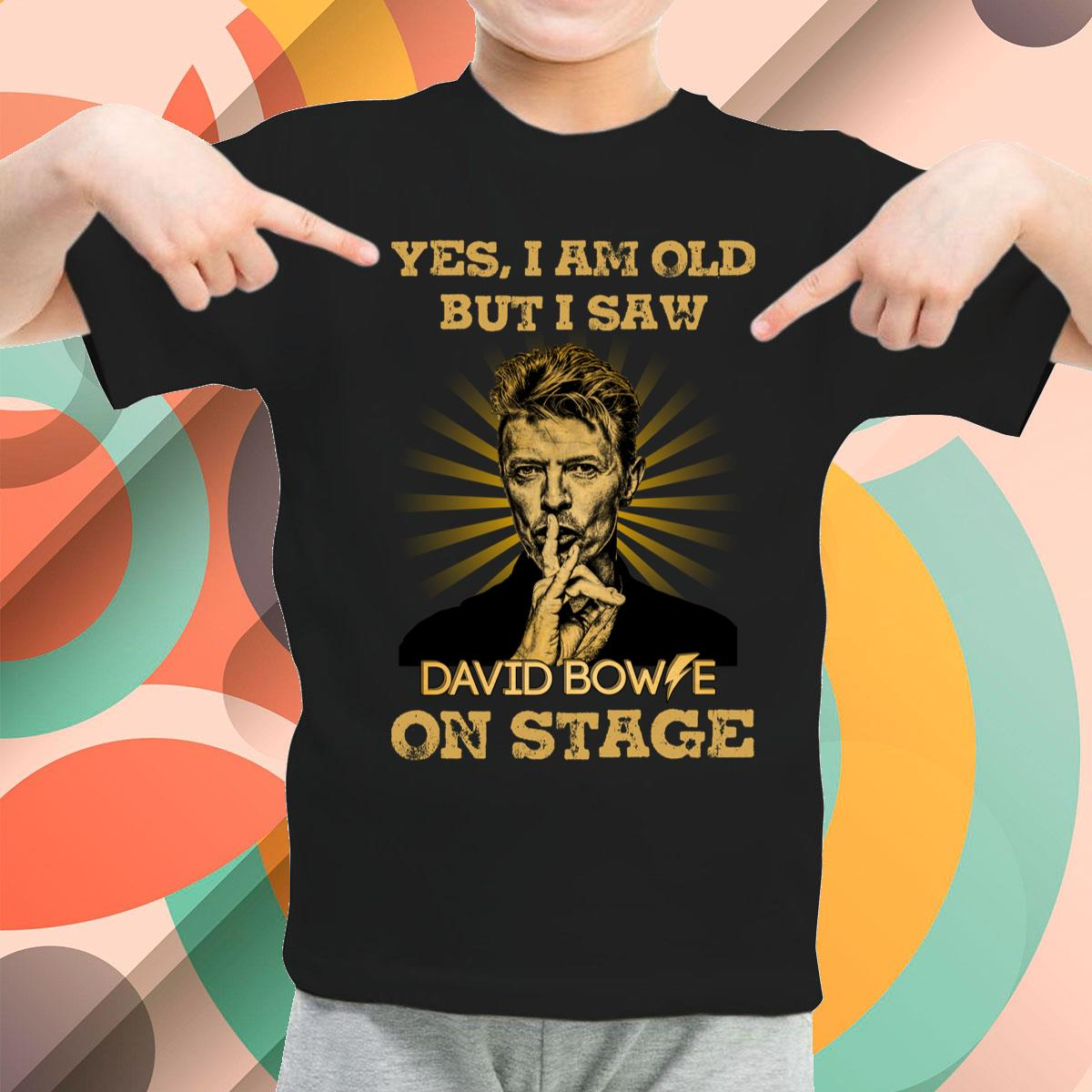 I Am Old But I Saw David Bowie Youth T-Shirt