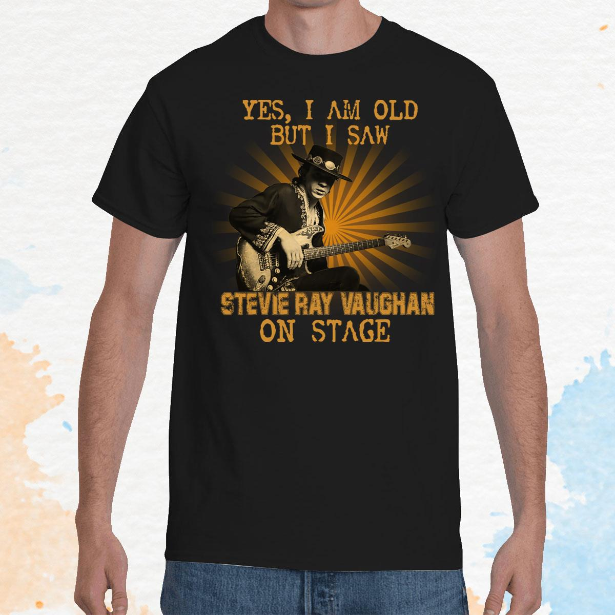I Am Old But I Saw Stevie Ray Vaughan Unisex T-Shirt