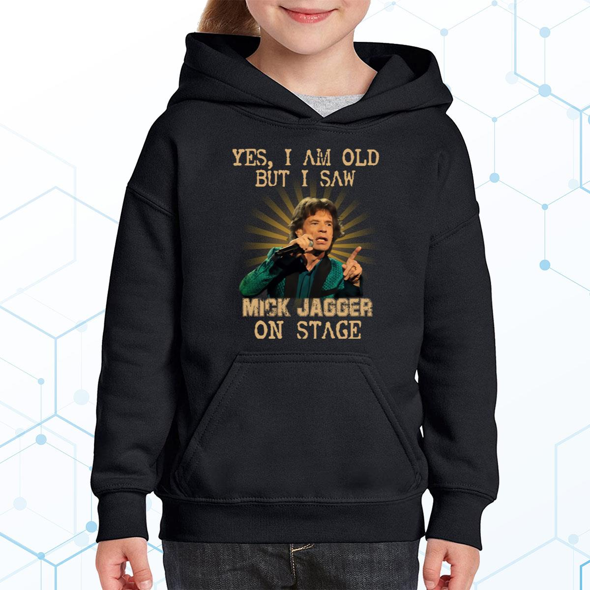 I Am Old But I Saw Mick Jagger Premium Youth Hoodie